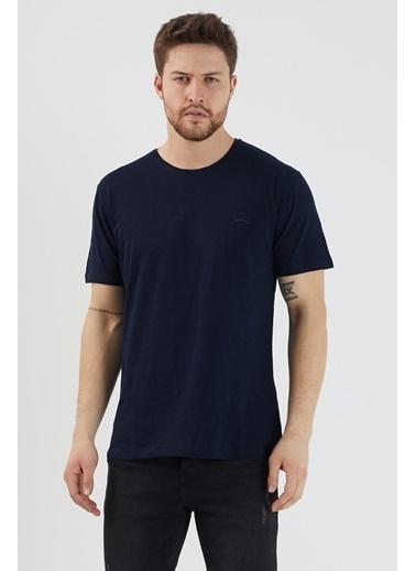 Slazenger Slazenger SANDER Erkek T-Shirt  Lacivert